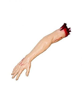 Abgetrennter Arm mit Oberarm