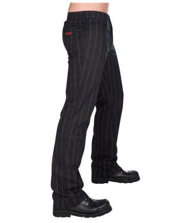 Steampunk Jeans Pin Stripe