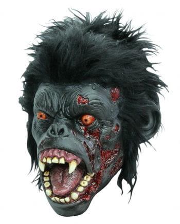 Affen Zombie Maske
