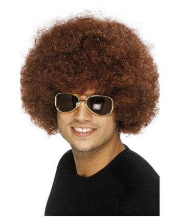 Afro Wig Brown
