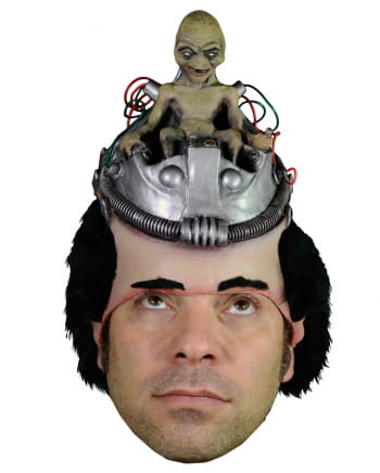 Alien Kopfpilot Maske