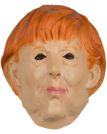 Angela Merkel Latex Maske