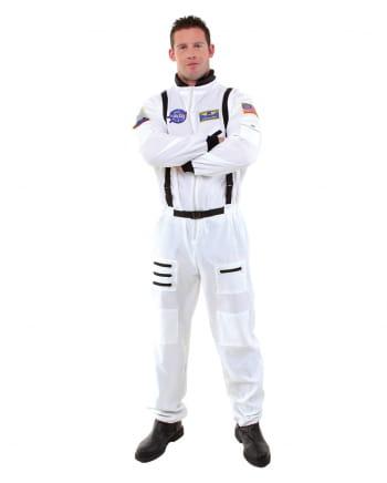 Astronauten Overall Kostüm weiß