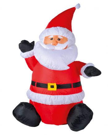 Santa Claus sitting LED inflatable 120cm