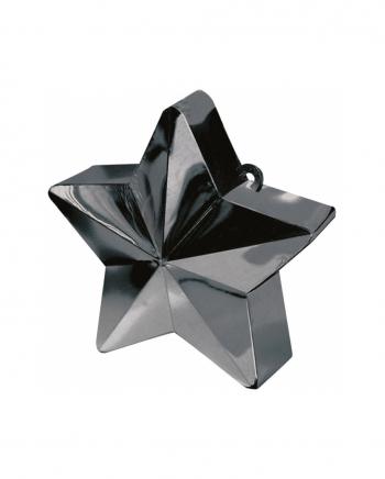 Ballongewicht Stern Schwarz 150g