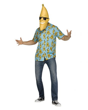 Goin u0027Bananas Costume With Mask  sc 1 st  Horror-Shop.com & Goin u0027Bananas Costume With Mask As carnival costume | horror-shop.com