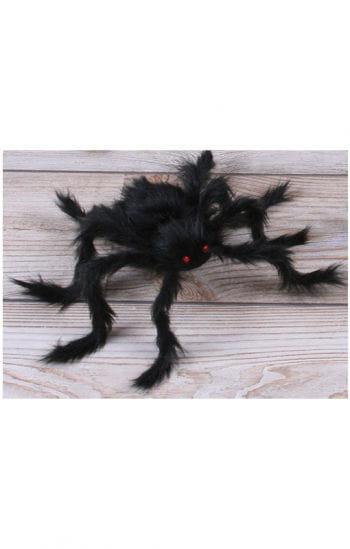Behaarte Horrorspinne schwarz