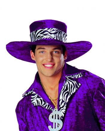 Big Daddy Rapper Hat violet