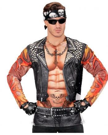 Biker Man Shirt Longsleeve