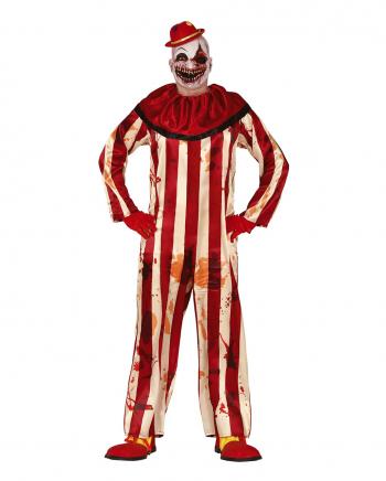 Billy the Bloody Killer Clown Herren Kostüm