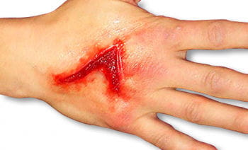 Bio sfx open laceration wound latex free horror wounds for Flesh wound tattoo