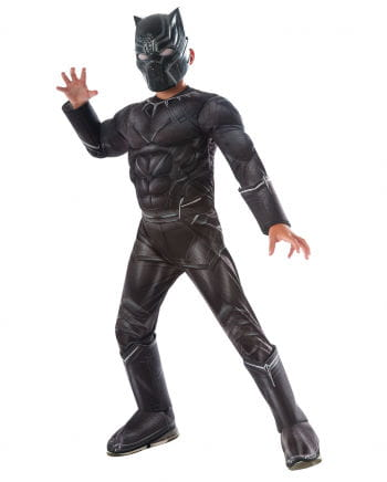 Black Panther Muscle Kids Costume