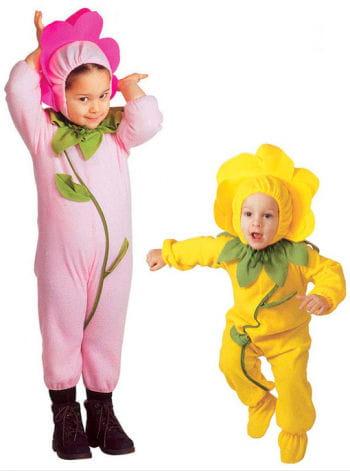 Blümchen Kleinkinder-Kostüm rosa -kleines rosa Blümchen Kostüm für ...