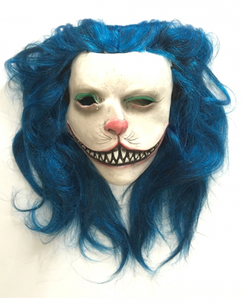 Blue Kitty Horror Maske
