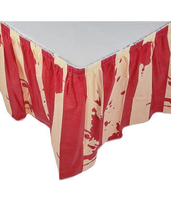 Bloody Circus table skirt