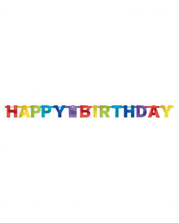 Happy Birthday Party garland