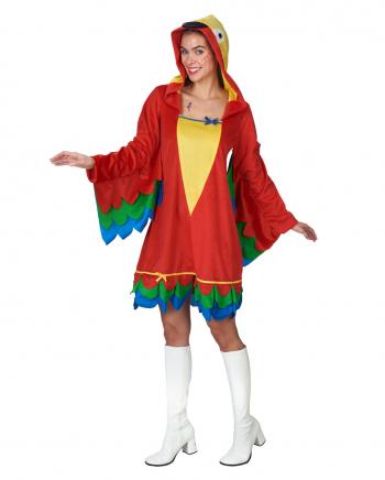 Papagei Kleid mit Kapuze