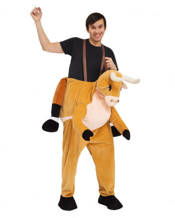 Reiter auf Stier Carry Me Kostüm