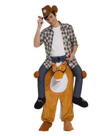 Reitender Cowboy Carry Me Kostüm