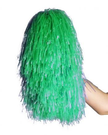 Cheerleader Stab-Pompon grün