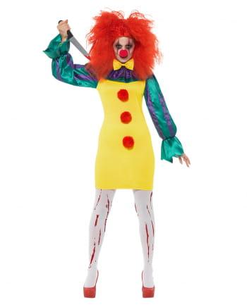 Classic Horror-Clown Damen Kostüm
