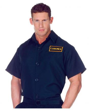 Coroner Gerichtsmediziner Hemd