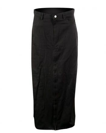 Long Men's Skirt Black