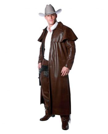 Cowboy Kostüm Mantel braun