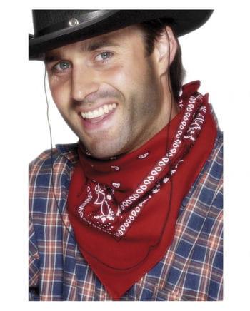 Cowboy Halstuch Rot