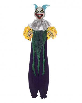 Creepy Clown Dekoration Lila