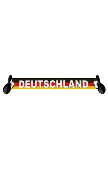 Deutschland Schal mit Samba-Rasseln