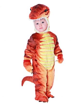 Dino Rex Kleinkinderkostüm Rot