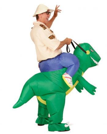 Dinosaurier Carry Me Kostüm aufblasbar
