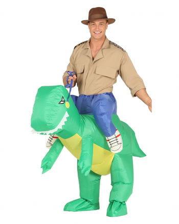 T-Rex Piggyback Costume Inflatable
