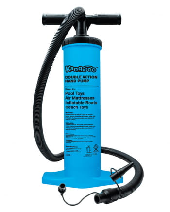 Double stroke air pump