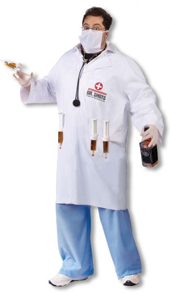 Dr. Shots Arzt Kostüm Plus Size für Halloween | Horror-Shop.com
