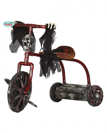 Spooky Dreirad Halloween Deko mit Licht & Sound