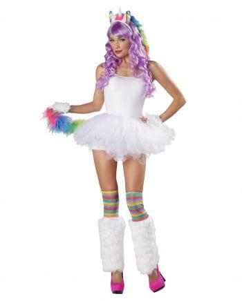 Einhorn Kostüm Set 4-teilig