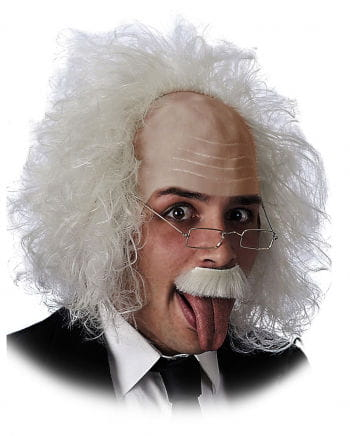Einstein Wig With Glasses
