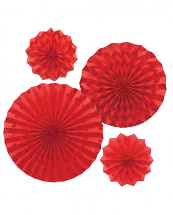 Fan Deco Set Red