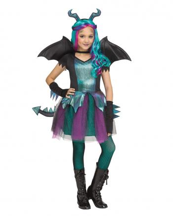 Fantasy Dragon Mädchen Kostüm