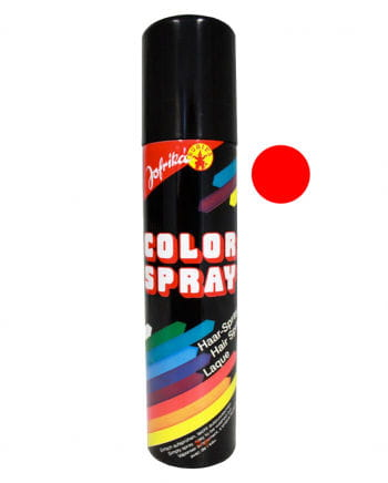 Coloured Hairspray Red