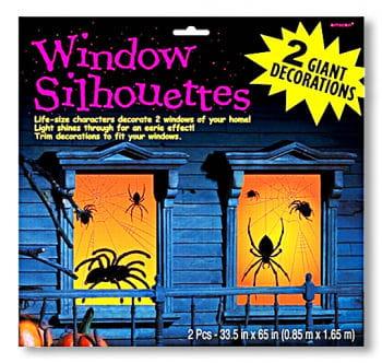 Fensterfolie Monsterspinne 2tlg