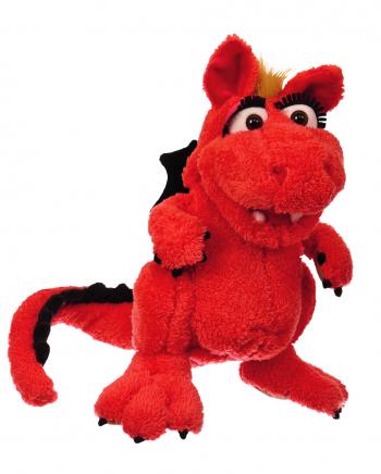 Fire Dragon Elsa Hand Puppet