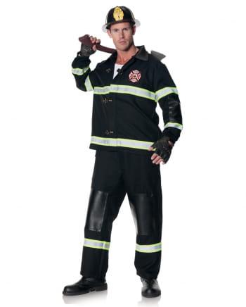 Firefighter man costume with helmet