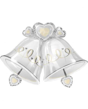 Folienballon Hochzeitsglocken XXL