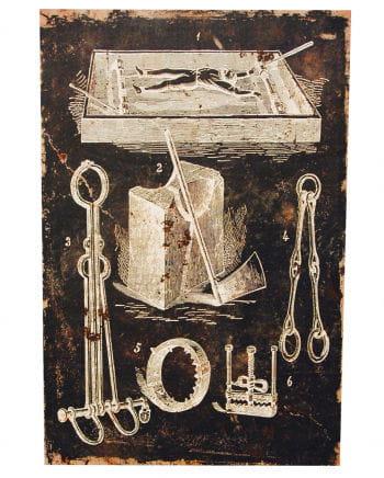 Folterwerkzeug - Leinwanddruck