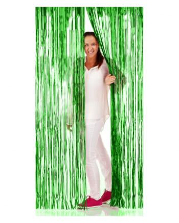 Fransen-Türvorhang Folie grün 1x2m