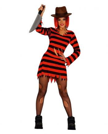 Ms Krüger scraps dress women's costume