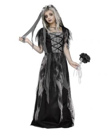 Graveyard Bride Child Costume with Veil | Send Halloween Costumes ...
